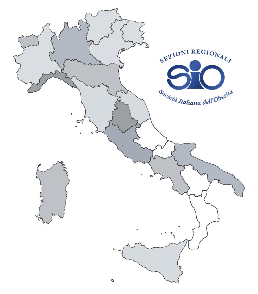 Sezioni Regionali SIO in Italia