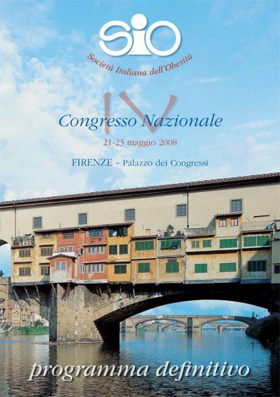 IV Congresso Nazionale SIO - Firenze 21-23 maggio 2008
